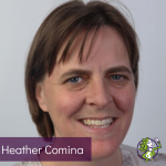 Headshot of Catalyst Summit Mentor, Dr Heather Comina, smiling at the camera.