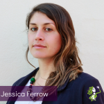 Headshot of Catalyst Summit Mentor, Jessica Ferrow, wearing a suit jacket and white blouse.